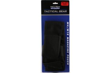 Uncle Mike's Law Enforcement 30-Round Mag Pouch, Double, OD Green 7702451