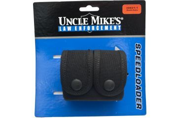 Uncle Mike's Law Enforcement Fitted speedloader case 88311