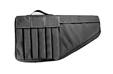Uncle Mike's Submachine Gun Case, Black, 24.5x13in 5210-1