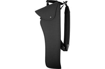 Uncle Mike's Bandolier Hunting Holster, Right Hand, Black - 14-16in BBL T/C Super Contenders