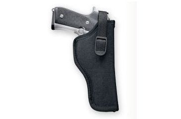 Uncle Mike's Sidekick Hip Holster, Left Hand, Black - 3.25-3.75in bbl Med/Large Autos - 8116-2
