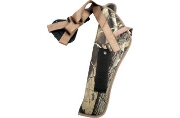 Uncle Mikes Vertical Shoulder Holster, Right, Camo - Scoped, 84136