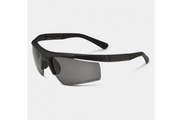 Under Armour Core, Satin Black Frame w/Black Rubber, Gray Lens, U8630035-010100