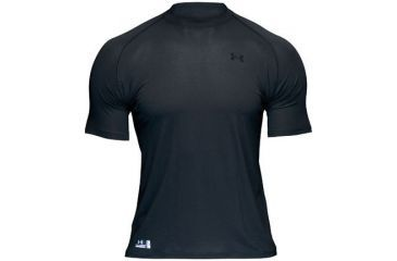 Under Armour HeatGear Fire Retardant Short Sleeve Black T-Shirt 1005444-001