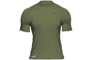 Under Armour HeatGear Fire Retardant Longsleeve T - Marine Olive Drab Color 1005444-390