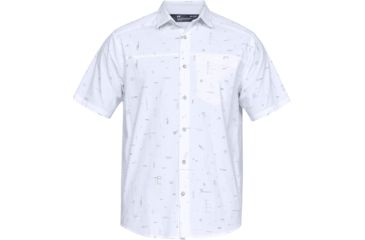 12cfcaec Under Armour Legacy Short Sleeve Woven Shirt - Men's