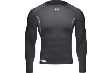 b11464747b1a15 Under Armour Men's ColdGear Base 2.0 Crew - Black Color 1004602-001 ...