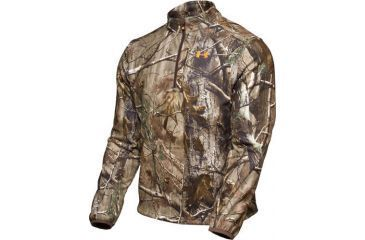 Under Armour Men's ColdGear Camo Cumberland WindFleece 1/4 Zip - Realtree AP Camo Color 1006107-340