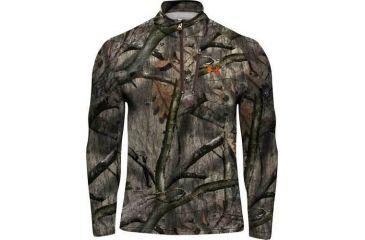 Under Armour Men's ColdGear Camo Hurlock Fleece Pullover - Treestand Color 1004042-905