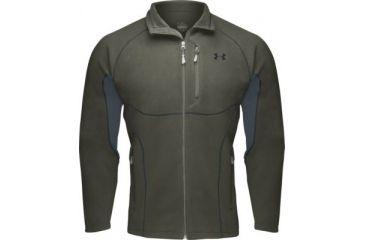 Under Armour Men's ColdGear Derecho Fleece Jacket - Clay Green Color 1006055-387