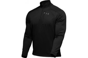 Under Armour Men's ColdGear Hundo Fleece 1/4 Zip - Black Color 1006260-001