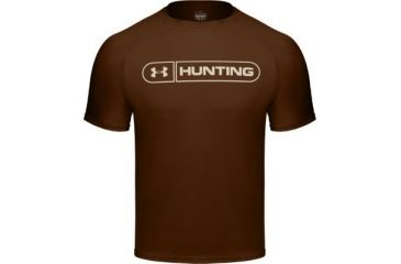 Under armour men 39 s heatgear hunting graphic t cleveland for Under armour brown t shirt