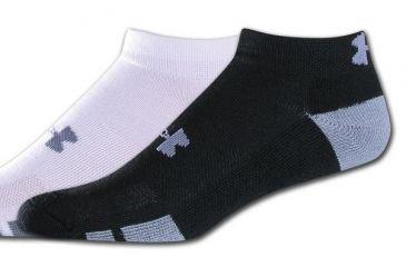 e618c8d3f Under Armour Men's Resistor Lo Cut Socks, Black, Size Large, UA3609-BLK