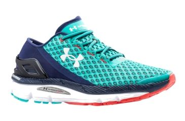 finest selection bfef7 1d17f Under Armour SpeedForm Gemini Road Running Shoe - Womens-Blue Neptune White-