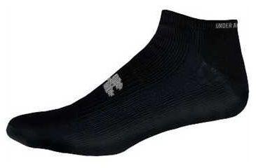 All Season Gear 4 Pack Mens No Show Black Socks