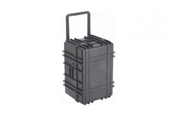 Underwater Kinetics 1627 Load Out Case, Wheels, Foam, Black 05522