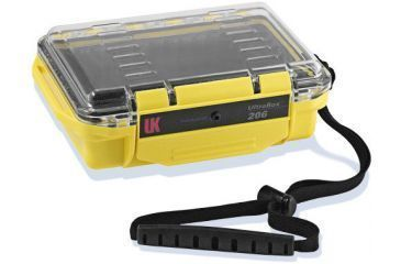 UW Kinetics 206 Ultra Box, Yellow with Clear View