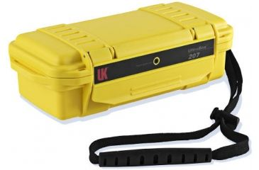 UW Kinetics 207 Ultra Box, Yellow with Clear View