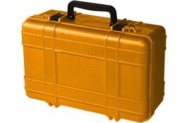 Underwater Kinetics Dry Case 821 Storage Box - w/ Panel Ring, Orange