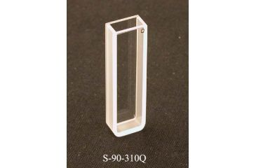 UNICO Quartz, Rectangular, 5mm pathlength, 1.7ml capacity, UV-Vis, each