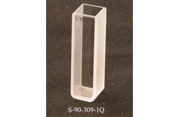 UNICO Quartz, Square, 10mm pathlength, 3.5ml capacity, UV-Vis, each