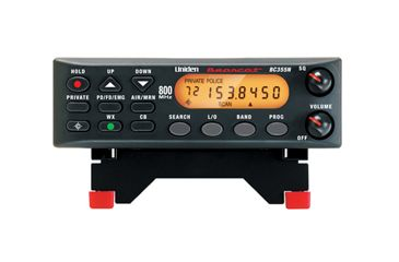 Uniden 800 MHz Bearcat Base / Mobile Scanner with Narrowband Compatibility BC355N