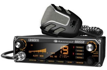 Uniden Bearcat CB Radio with 7-Color Large Display, Black Bearcat 980ssb