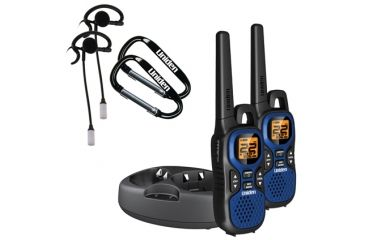 Uniden Two-Way FRS/GMRS Radios, Red/Black/Blue GMR3040-2CKHS