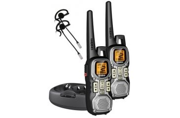 Uniden Two-Way FRS/GMRS Radios, Silver/Black GMR4040-2CKHS