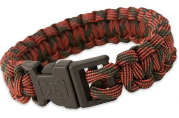 United Cutlery Elite Forces Paracord Bracelet, Red Camo UC2874