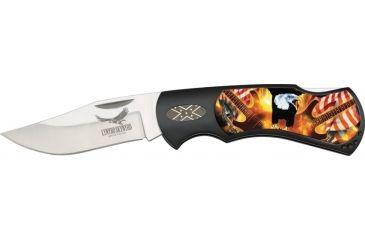 United Cutlery Lynyrd Skynyrd Lockback Fold Knife UC2684
