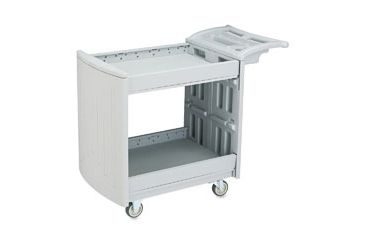 United Stationers Cart 2-shelf Utility Lgy SAF5330GR, Unit EA