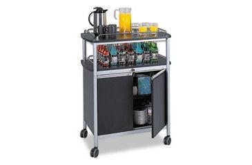 United Stationers Cart Beverage Mobile Bk SAF8964BL, Unit EA