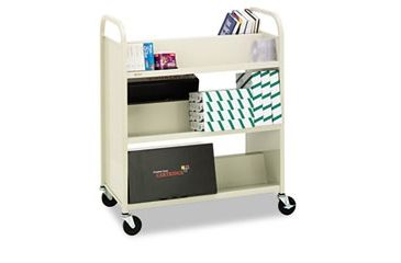 United Stationers Cart Book Slant Shelf Bk BREBOOV5RN, Unit EA