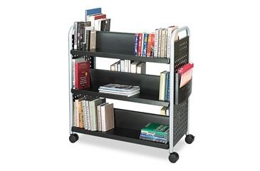 United Stationers Cart Book Scoot Bk SAF5335BL, Unit EA