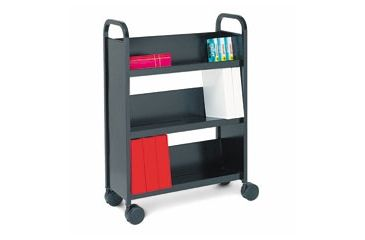 United Stationers Cart Book Three Shelf Bk BREBOO327RN, Unit EA