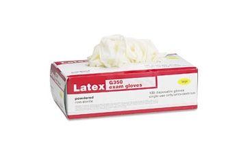 United Stationers Gloves Latx Exam Pwdrd M GAX350M, Unit BX