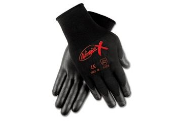 United Stationers Gloves Seamlss Dip Med Bk CRWN9674M, Unit PR