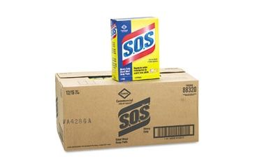 United Stationers Pad Steel Wool Soap/15bx COX88320BX, Unit BX