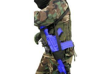 BlackHawk Universal Slung Weapon Holder (Belt Slung) Holster 71WH00BK