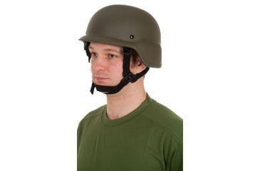 United Shield PASGT Ballistic Helmet Level IIIA w/ 4pt Harness System OD Green, Large PASGT-IIIA-OD-LG