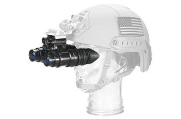 US Night Vision PVS-14A Night Vision Monocular, Gen 3 Chrome,White Phosphor Auto-Gated Unfilmed, Black 001215