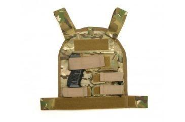 US Palm Defender - Large with 2 Soft IIIa Armor Panel - Handgun, Multicam, RH 094922064769