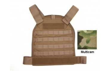 US Palm Defender - Large with 1 Soft IIIa Armor Panel - MOLLE, Multicam 094922064677