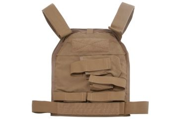 US Palm Handgun Defender Soft Armor Plate Carrier With One Level IIIA Soft Armor Panel X-Large 11x13.5 Inch Panel Right Hand Coyote Tan