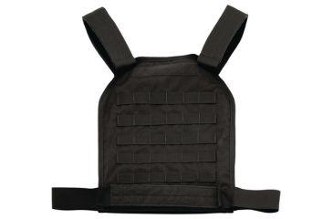 US Palm MOLLE Defender Soft Armor Plate Carrier With One Level IIIA Soft Armor Panel X-Large 11x13.5 Inch Panel Black