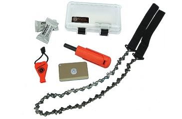 UST Deluxe Survival Kit, Clear/ Orange 20-300-0048-001