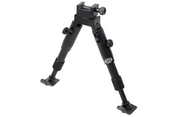 Leapers UTG Shooters Bipod w/ Foldable Legs, Fixed 5.6in Height