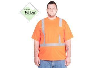 Utility ProWear High Visibility S/S Pocket T Shirt Class 2, Orange, XLARGE UHV301-XL-O