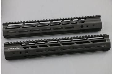 2-V Seven 308 Hyper-Light Magnesium M-Lok Handguard